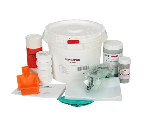 SUPPLY-225CH- SUPPLYPAK MERCURY SPILL KIT (EACH)
